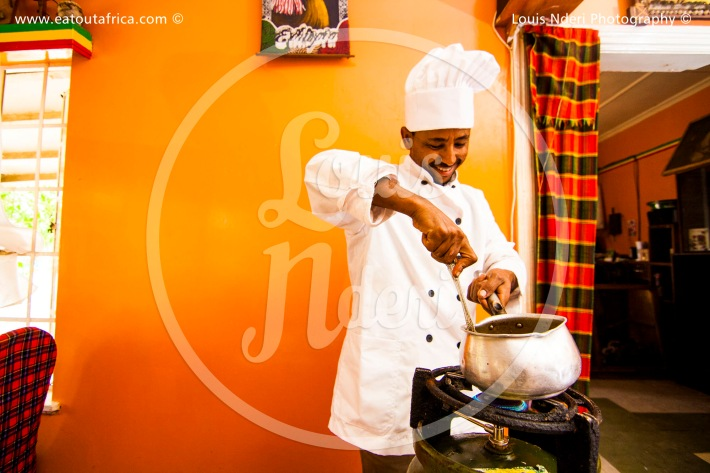 Chef Ghafa from Habesha Kilimani
