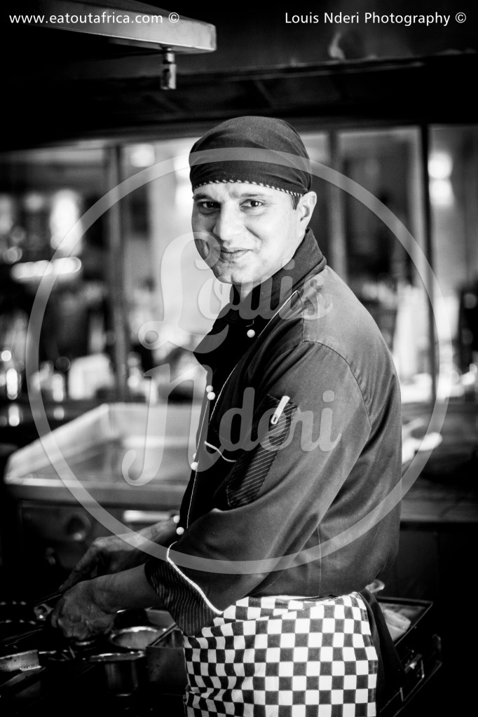 Chef Dayan from Haandi Westlands