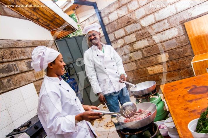 Sous Chefs from Habesha Gigiri
